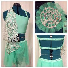 Custom Solo Costume in Mint Green