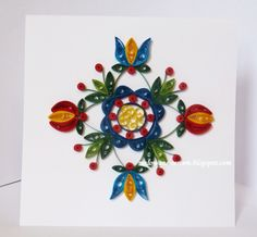 #folk #cards #quilling #paperfiligree