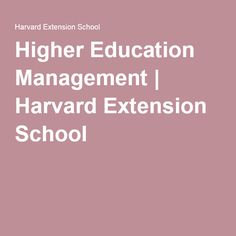 Is Harvard Extension school good enough for Master of liberal arts in Management?