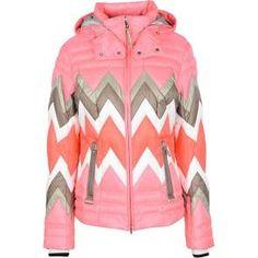 Bogner Women's Pink Down Jacket Size S Polyamide Red Turtleneck, Long Sleeve Turtleneck, Down Ski Jacket, Pink Jacket, Ski Jackets, Outerwear Jackets, Hooded Jacket, Pink Ladies, Womens Fashion