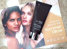 BECCA Luminous Body Perfecting Mousse and Beach Tint Lip Shimmer Souffle - daydreaming beauty