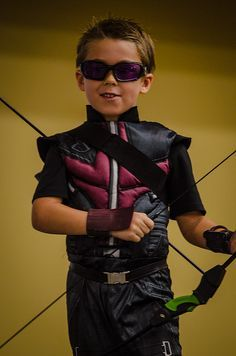 Of course he wants to be the one Avenger that you can't buy a kids costume for... :)