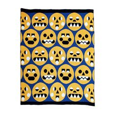 Emote Throw Blanket by DittoHouse