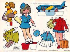 (⑅ ॣ•͈ᴗ•͈ ॣ)♡                                                             ✄María Pascual:  La azafata (The stewardess) 1962