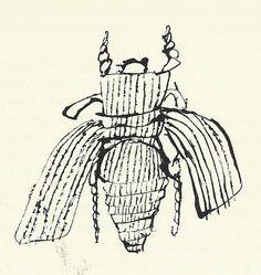 "45: ""Bee"" by Ben Shahn by Scott Lindberg, via Flickr"