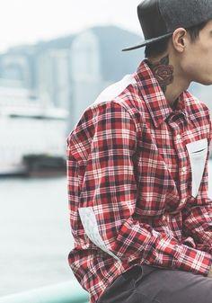 Boys neck tattoos