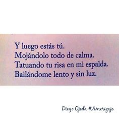 Diego Ojeda, tú