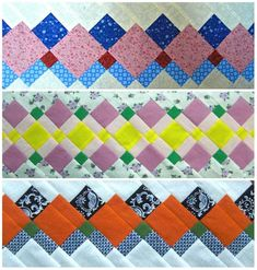Tutorial Patchwork, Patchwork Patterns, Patchwork Designs, Quilt Block Patterns, Quilt Blocks, Quilt Boarders, Seminole Patchwork, Christmas Patchwork, Quilt Tutorials