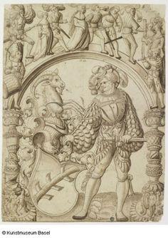 Niklaus Manuel gen. Deutsch (Umkreis / circle) Bern um 1484–1530 Bern Anonym…