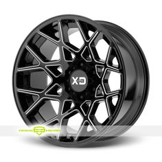 XD Series XD831 Black Milled Wheels For Sale & XD Series XD831 Rims And Tires