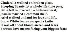 Disney Princess Poem: