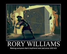 Where can I get a Rory Williams? I want a Rory Williams. Rory Williams, Torchwood, Geeks, Karen Gillian, Sherlock, Serie Doctor, Alec Guinness, Hello Sweetie, Fandoms