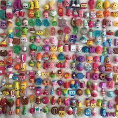 Shopkins Random 100PCS of Season 1 2 3 4 Loose Toys Gift for Xmas Kids 2016 #meawloveshop