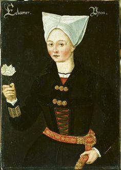 Vrouw uit Edam 1550-1574 #Waterland