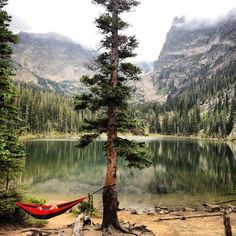 I hope some of you were able to spend your weekend like this. Chilling at Odessa Lake, Rocky Mountain National Park, COs