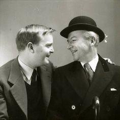 Truman Capote and Cecil Beaton