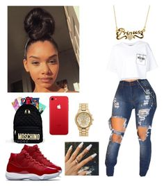 """"""""""" by youngcece13 on Polyvore featuring Moschino and Forever New"""