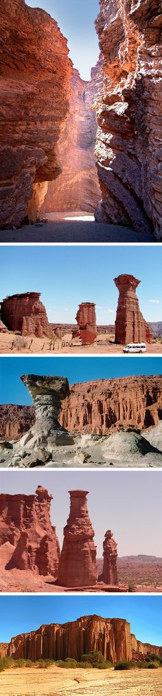 Ischigualasto and Talampaya National Parks, UNESCO World Heritage, Salta, #Argentina