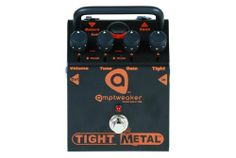 Amptweaker TightMetal Distortion Pedal by Amptweaker. $170.49. The new TightMetalTM distortion pedal takes the TightDriveTM and TightBoostTM overdrive platform to the next level by providing over-the-top metal and hardcore crunch tones with adjustable tightness thanks to the Tight control.