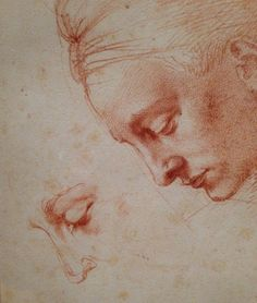 Michelangelo: Quest for Genius. Posted November 13, 2014 (photo: Michelangelo, Studies for the Head of Leda).