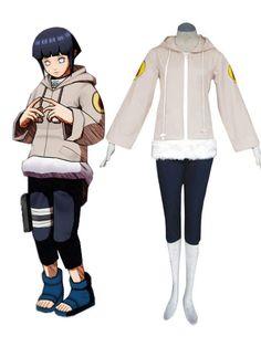 Naruto Hinata Hyuga Part I Deluxe Cosplay Costume