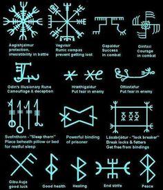 MysticEchoes on – Kochen – diy best tattoo images – Norse Mythology-Vikings-Tattoo Rune Symbols And Meanings, Magic Symbols, Ancient Symbols, Nordic Symbols, Egyptian Symbols, Ancient Art, Arte Viking, Viking Art, Norse Tattoo