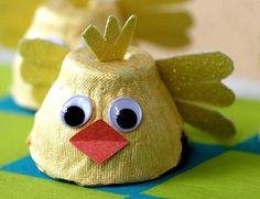 цыпленок из яичных лотков своими руками: 8 тыс изображений найдено в Яндекс.Картинках