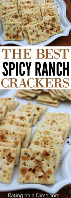 This spicy ranch crackers recipe is the best. Our favorite of all snacks made with saltine crackers is this ranch crackers recipe. Spicy crackers are the perfect Christmas crackers recipe for your family!