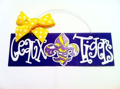 represent the home team!  by geauxgirldesigns.etsy.com