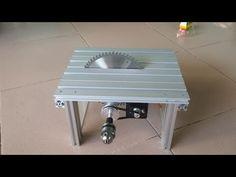YouTube Mini Circular Saw, Wood Tools, Table Saw, Dremel, Woodworking, Simple, Furniture, Home Decor, Lighting