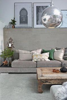 Svenngården: Living room