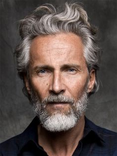 Best Gray Hair Color for Men | New haircut and image | Pinterest ...