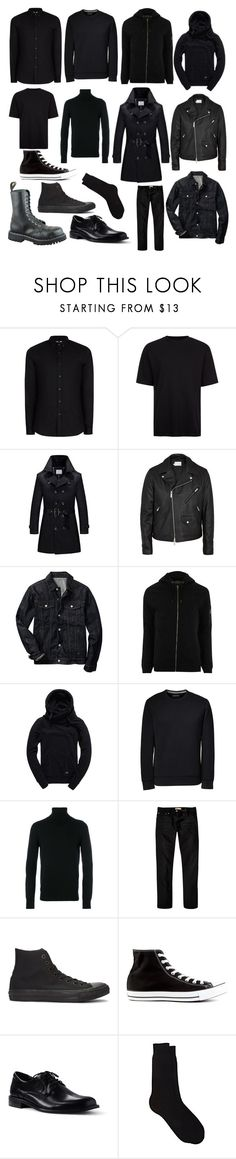 """i want to hide"" by nicholasisnothing ❤ liked on Polyvore featuring Topman, Gap, River Island, Superdry, Lands' End, Dondup, Converse, Barneys New York, men's fashion and menswear"