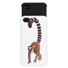 Ring Tailed Lemur iPhone Wallet Case $24.50