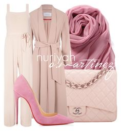 """Hijab Outfit #601"" by hashtaghijab ❤ liked on Polyvore featuring Chanel, Dorothy Perkins, Christian Louboutin and hijab"