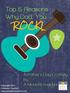Father's Day Craftivity and Printable $