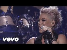 """Pink perfoming her second single """"Try"""" from her new album """"The Truth About Love live on The X Factor UK semifinals. All rights goes to ITV1."""