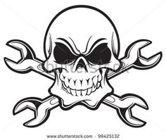 Find Skull Crossbones stock images in HD and millions of other royalty-free stock photos, illustrations and vectors in the Shutterstock collection. Thousands of new, high-quality pictures added every day. Skull Tattoo Design, Skull Design, Skull Tattoos, Design Design, House Design, Skull Stencil, Skull Art, Vinyl Wall Art, Vinyl Decals