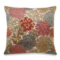 Mumsford Bright Toss Pillow   Bed Bath