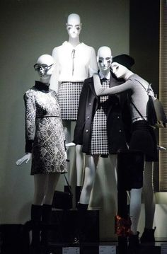Get our abstract mannequins for 40% OFF today and achieve this eye-  catching window 0bc85b3d335