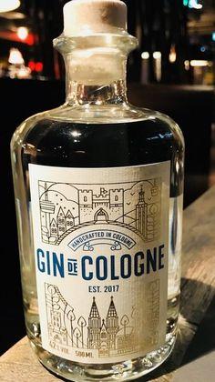 Gin de Cologne 500 ml - gin bottle - Schnaps Champagne Drinks, Cocktail Drinks, Alcoholic Drinks, Alcohol Bottles, Liquor Bottles, Whisky, Gin Tasting, Rum, Geneva