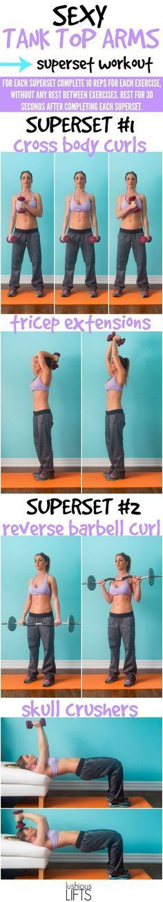 5 Best Fat Burning Superset Workouts For Women