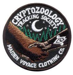 Kryptozoologie Tracking-Gesellschaft: Freunde der Cryptid Wildlife Patch (Glow in the Dark)