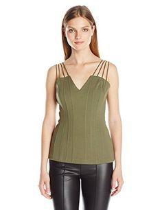 great color, nice v neck and love the tripple shoulder straps  Bailey 44 Women's Oryx Top Bailey 44, http://www.amazon.com/dp/B01F6DS4PI/ref=cm_sw_r_pi_dp_.vKFzbVDZMCCM