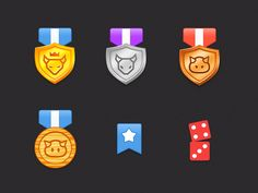 icons i did for a leaderboard while working on iOS top 100 grossing game, Battlecamp! Check out 2x