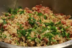 Nam Khao - Laotian crispy rice salad