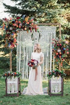 Jewel Toned Bohemian Wedding Inspiration