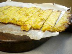 """""""Pão"""" palito de couve flor e queijo (sem glúten)"""