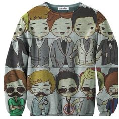 One Direction Sexy Sweater. One Direction Outfits, One Direction T Shirts, One Direction Cartoons, I Love One Direction, Looks Style, My Style, Bae, Irish Boys, Sweater Shirt