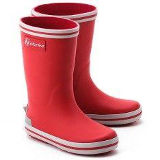 Rain - Czerwone Gumowe Kalosze Dziecięce - 0013500986.01.9102